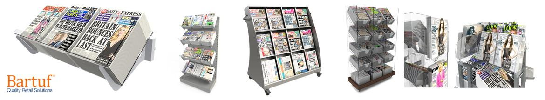 Bartuf Newspaper Displays & Shelving