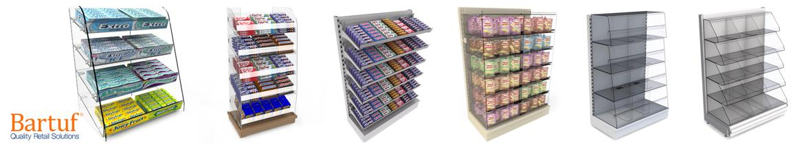Bartuf Confectionery Snacks Displays