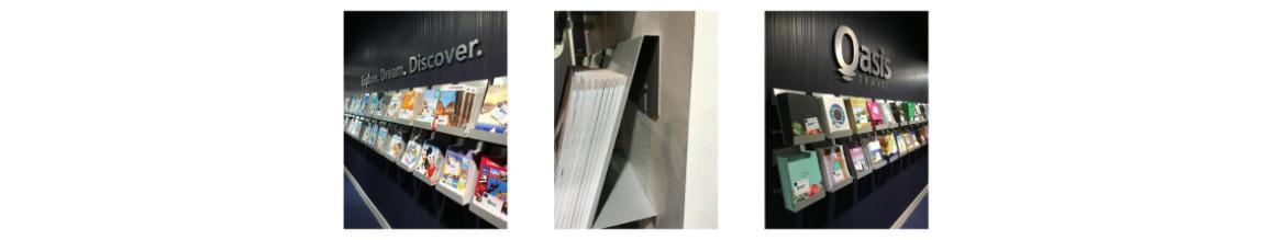 Mild Steel Brochure Holders