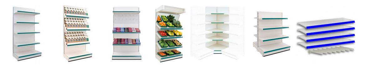Low Cost Shop Shelving