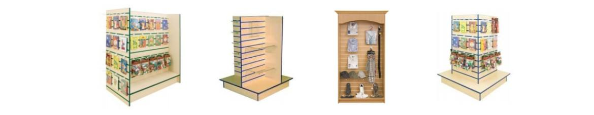 Slat wall Displays