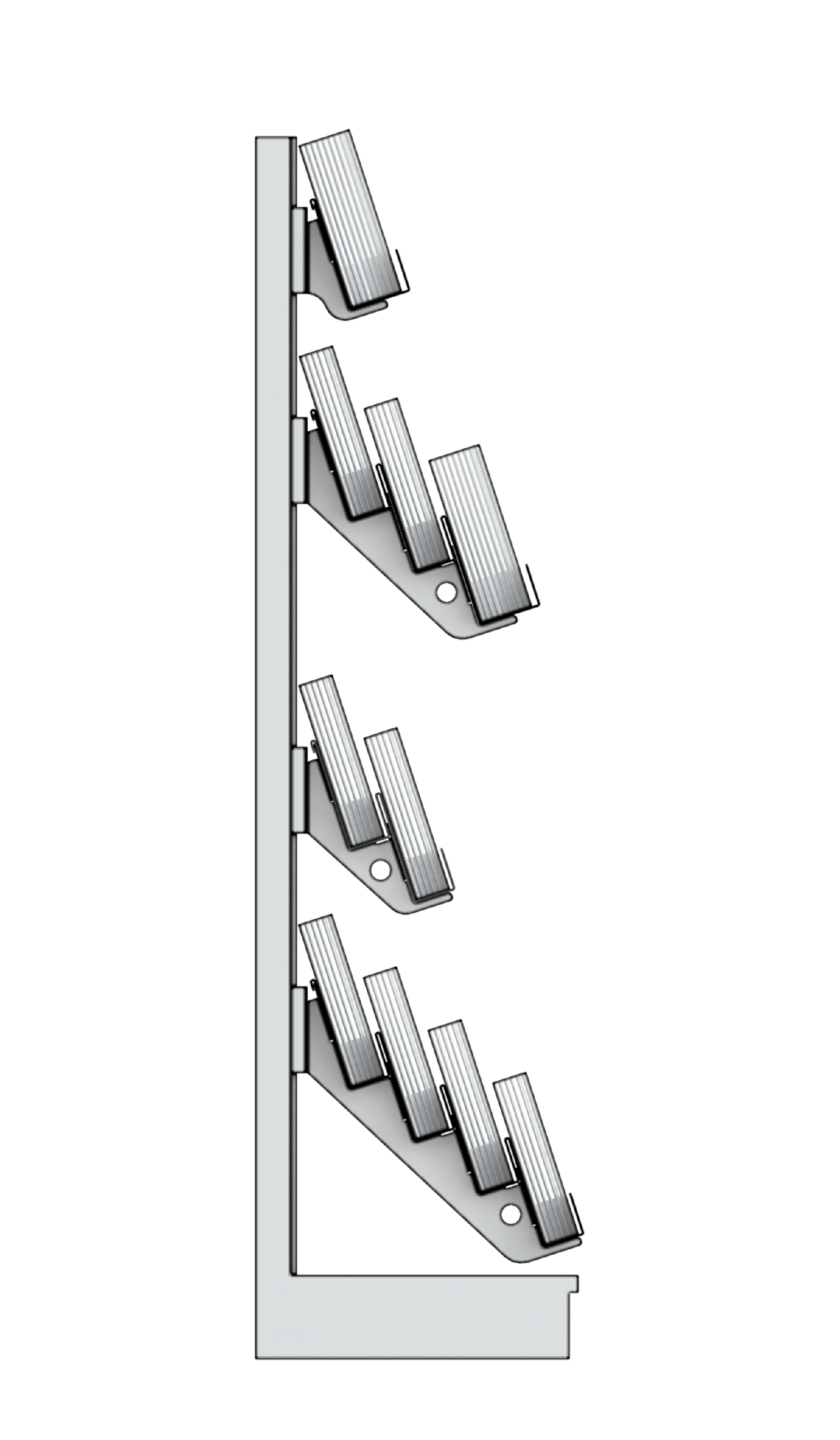 Bartuf 10 Tier Super Plus Brochure Display