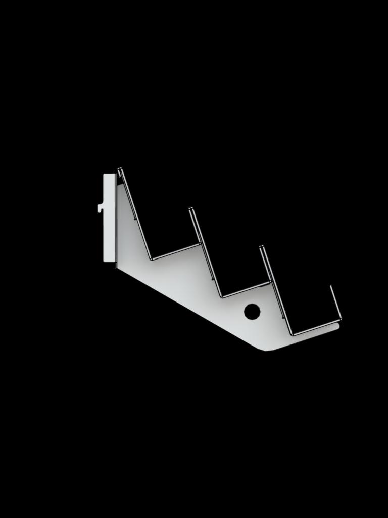 Bartuf 3 tier magazine shelf (A031014)
