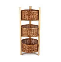 3 Tier Round Display Stand and Baskets