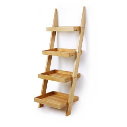 4 Tier Ladder Display Stand