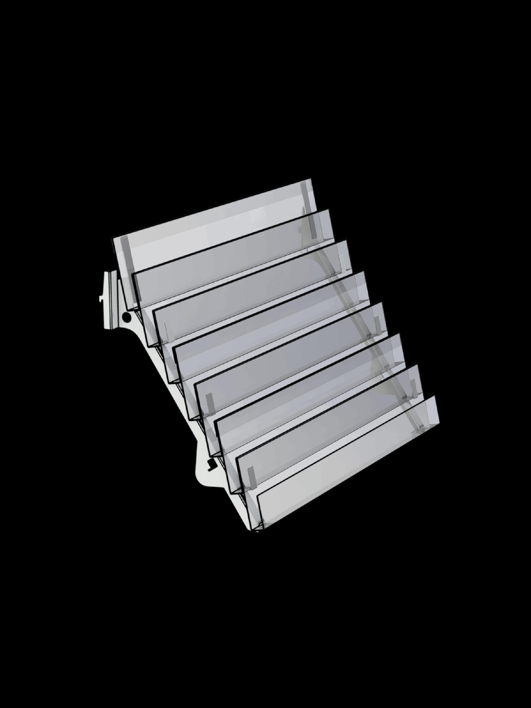 Bartuf 7 tier magazine shelf (A031075)