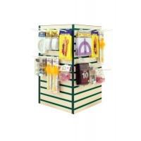 Counter Top Rotary Slatwall Display