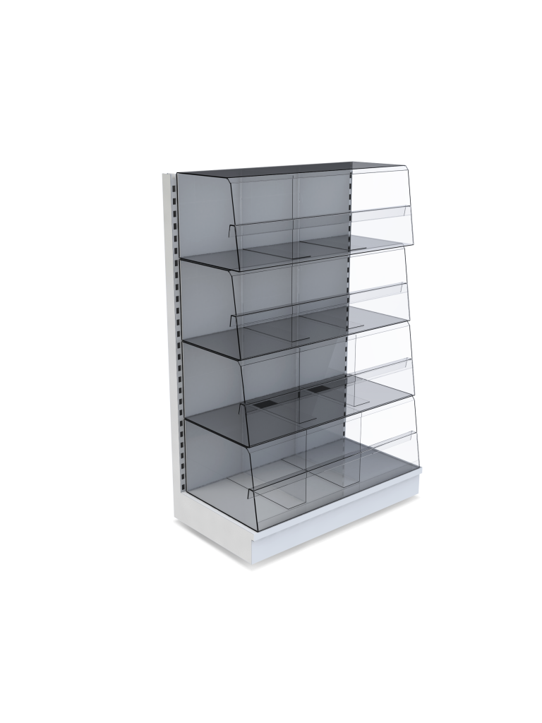 Bartuf 300mm Snacking Bin Promotional Front + Dividers