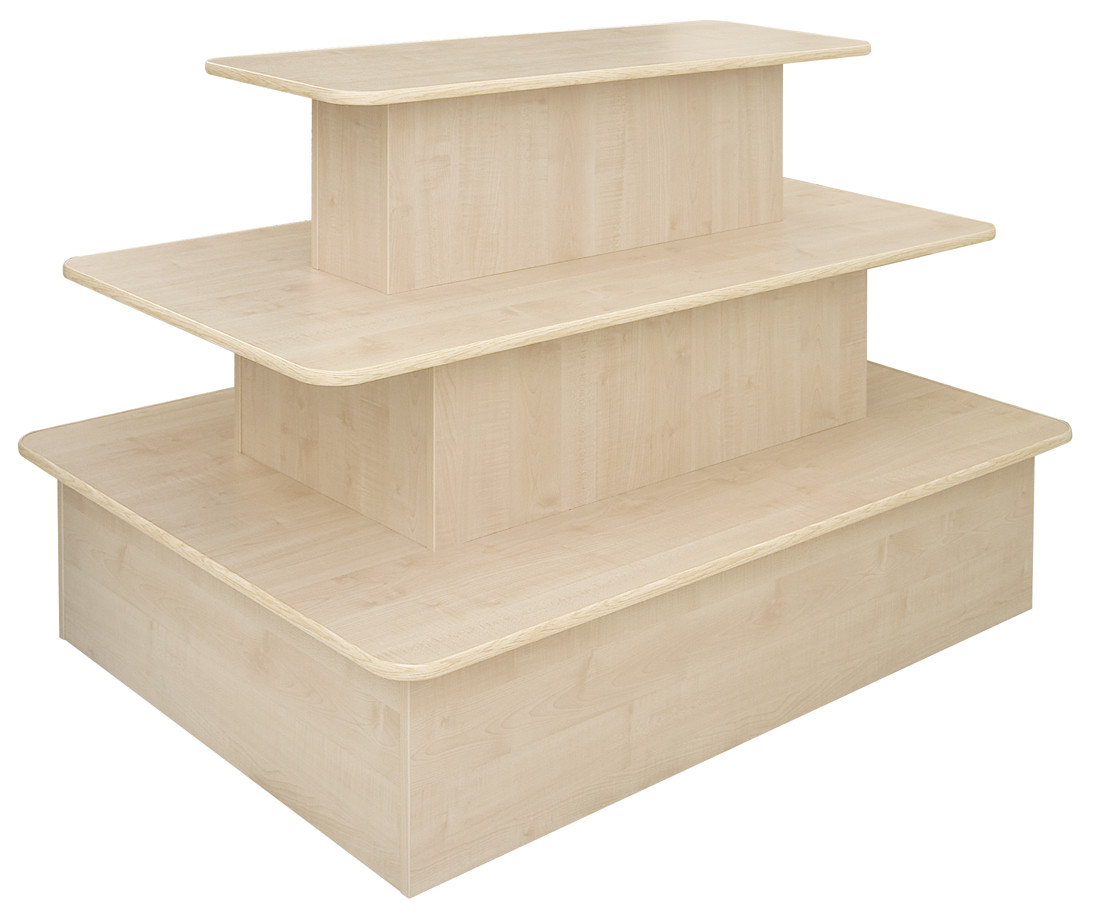 3 Tier Rectangle Table