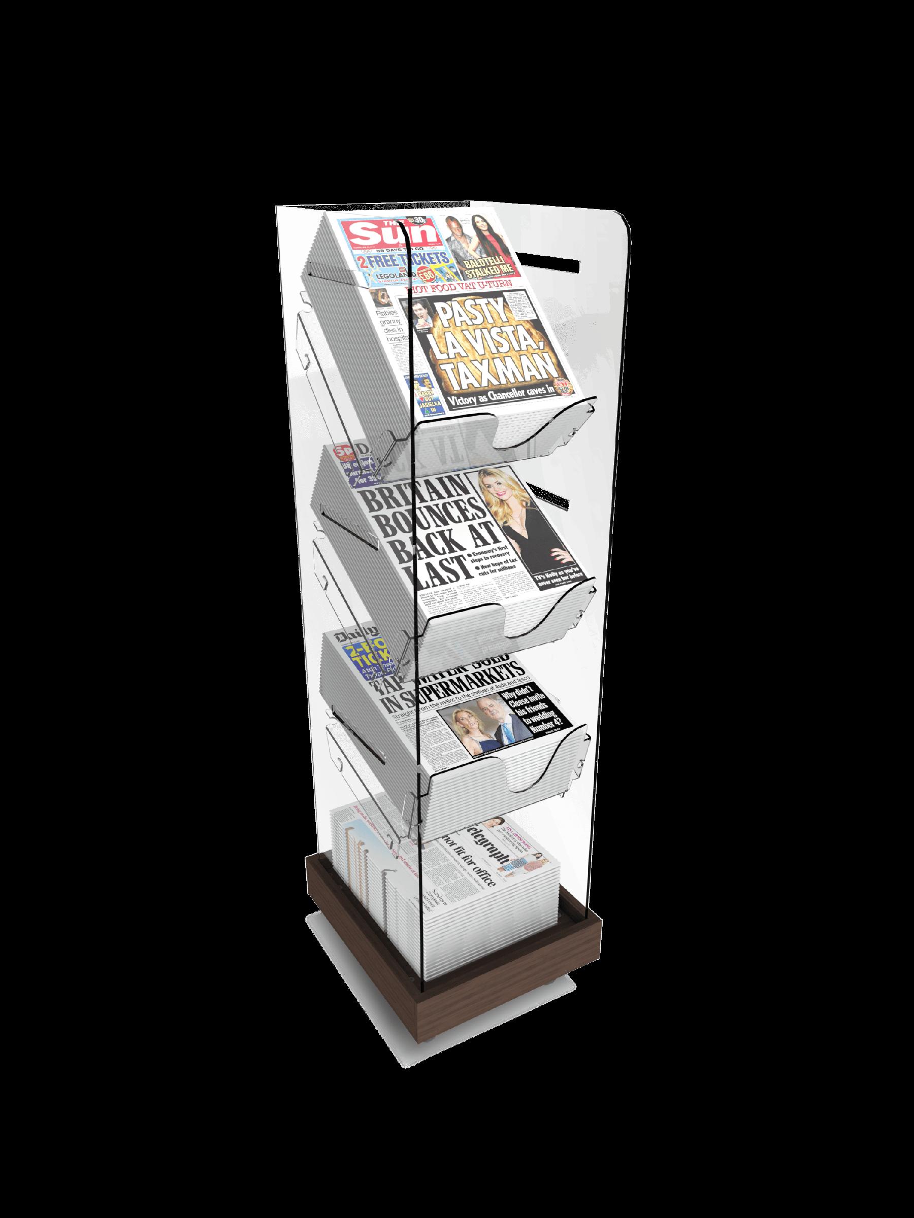 Bartuf Single Newspaper Tower