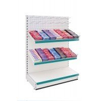 Modular Shelving - Low Level Stationery / Confectionery Shelving