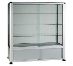 UB26 - 3/4 Display Tower Showcase with Storage