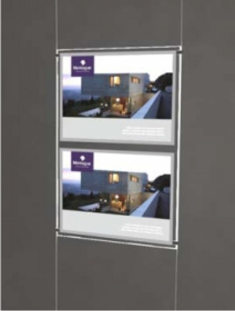 A3 Double Landscape Light Panels