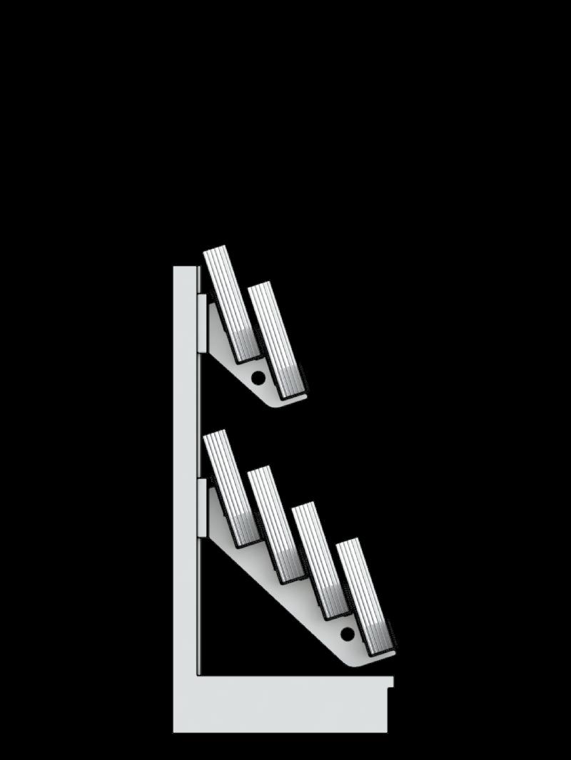 Bartuf 6 tier super low level gondola