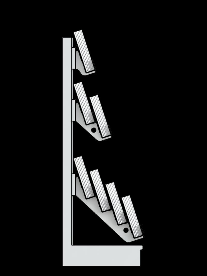 Bartuf 7 tier super gondola magazine bay (A031126)