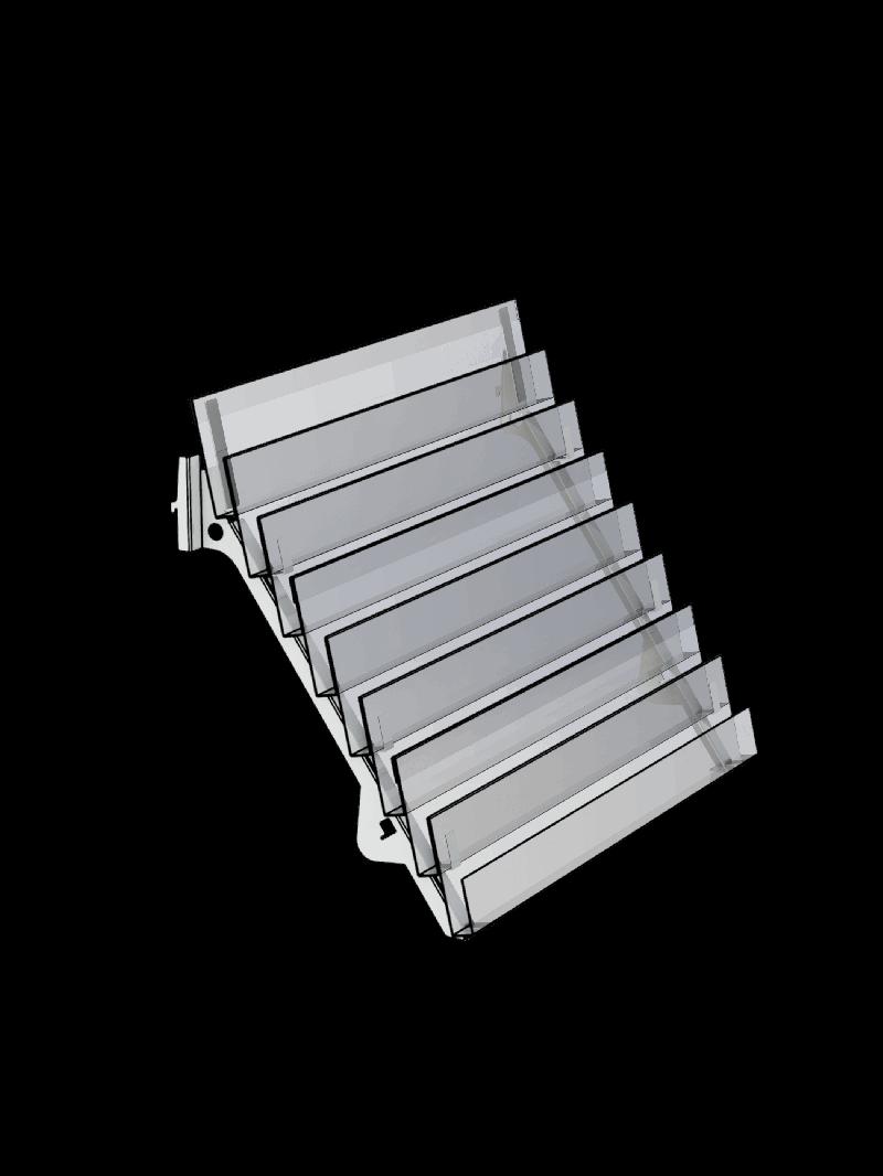 Bartuf 8 tier magazine shelf (A031076)