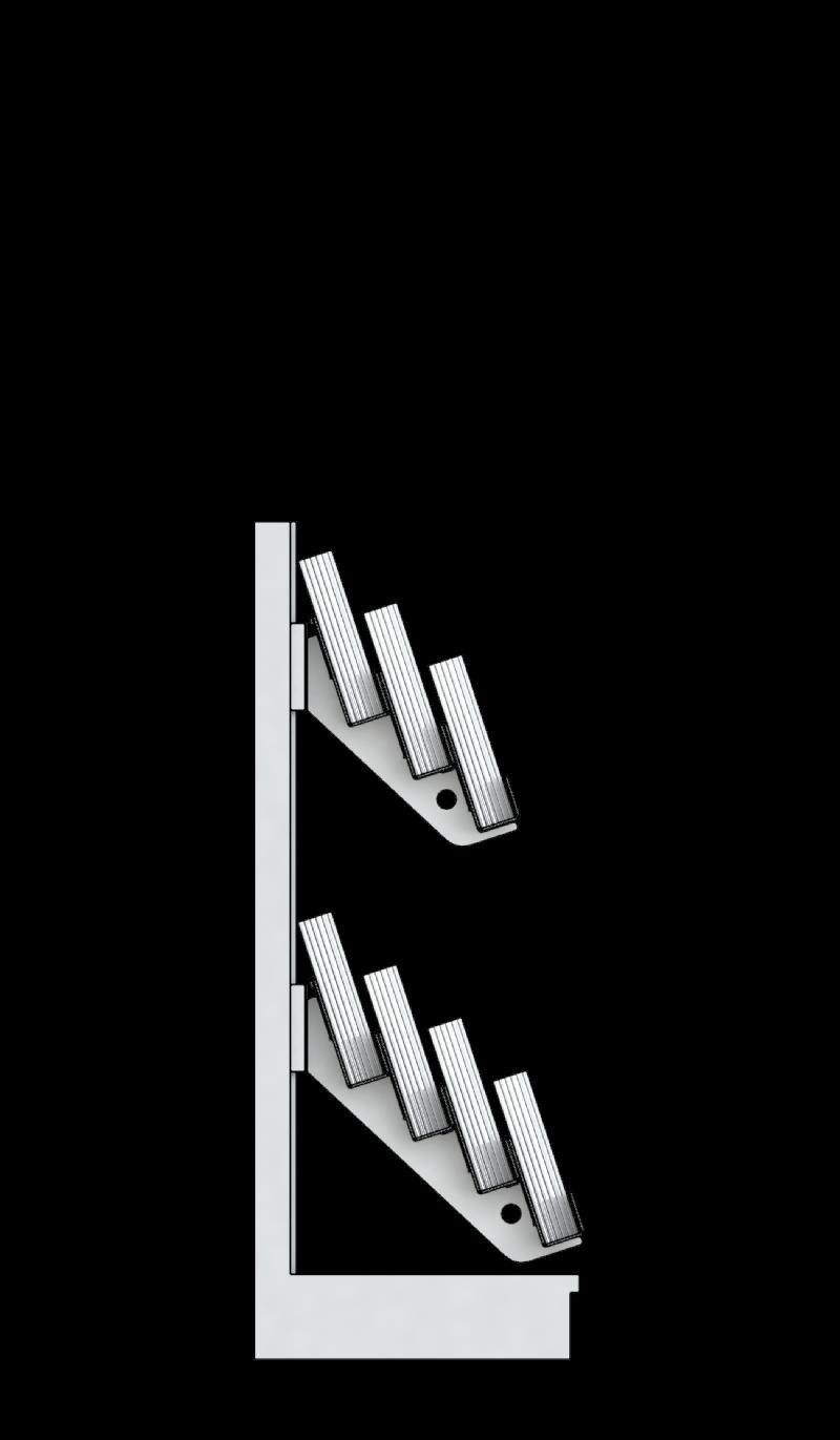 7 tier super low level gondola