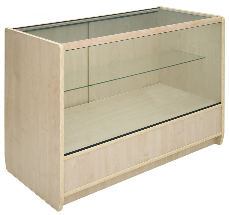 2/3 Glass Display Counter