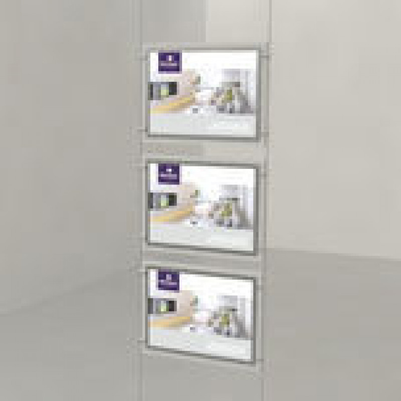 A3 Triple Landscape LED Light Panels