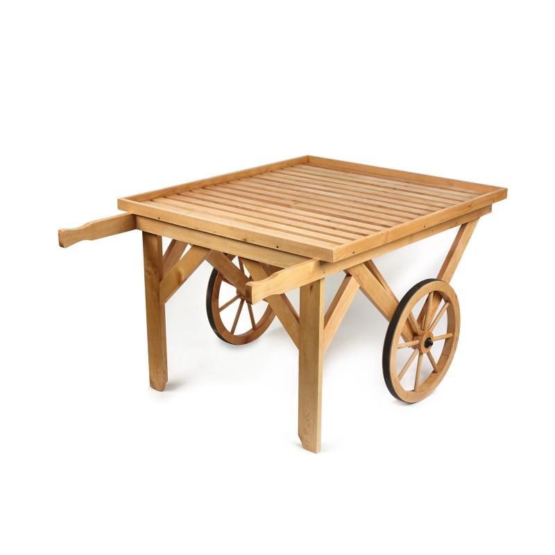 Mobile Flat Top Display Cart