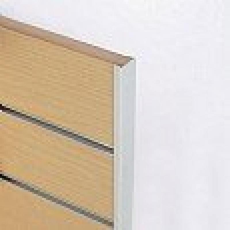 Slatwall Plastic | Pvc End Cap Profile