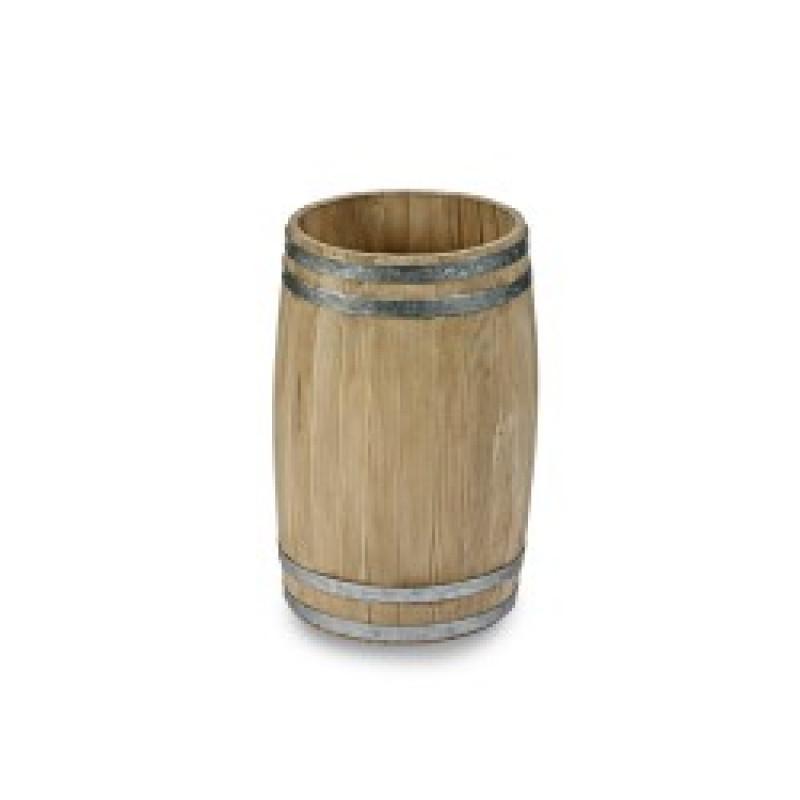 Small Wooden Display Barrel