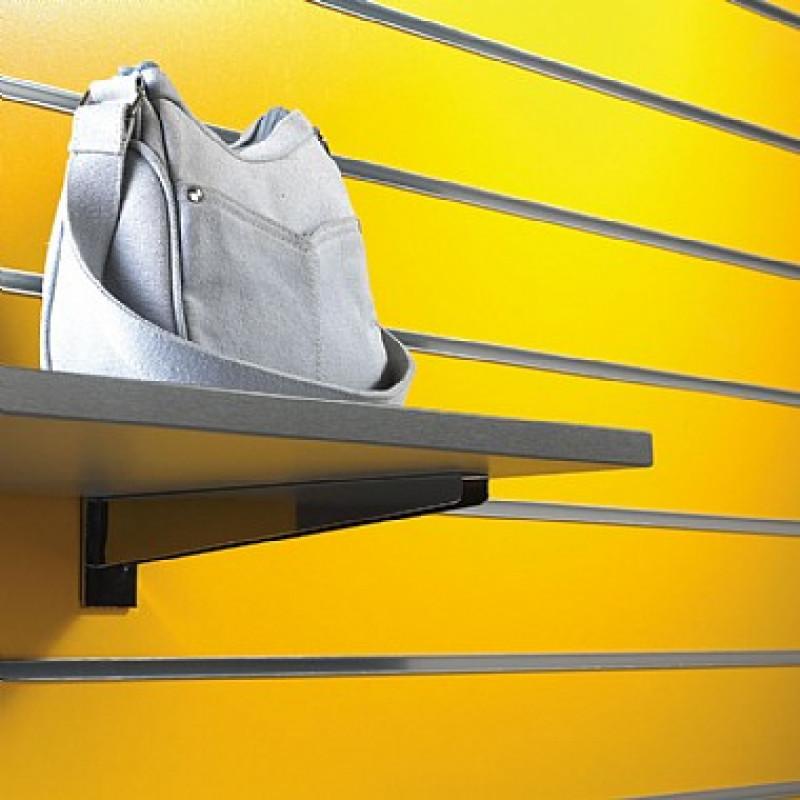 5No. Yellow Slatwall Display Panel 8ft x 4ft (2400mm x 1200mm)