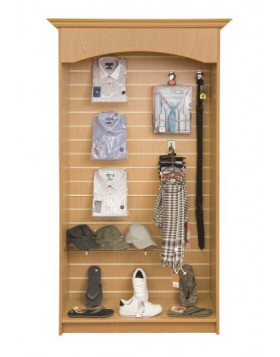 Loxley Open Slatwall Display Unit