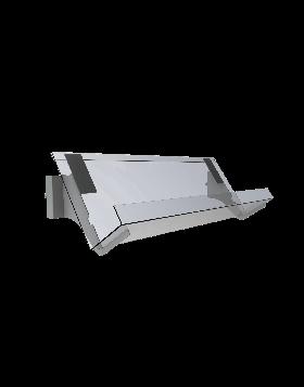 Bartuf  1 tier 160mm vertical news shelf