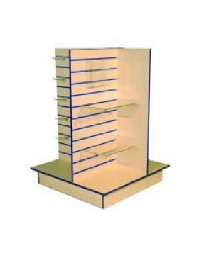 4 Way Gondola Slatwall Unit