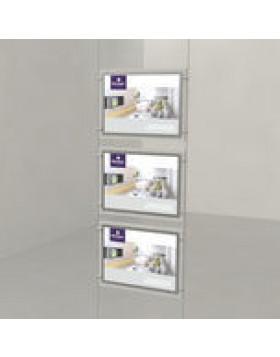 A3 Triple Landscape LED Light Panels