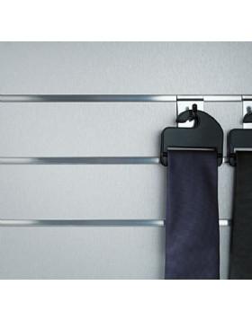 Brushed Aluminium Slatboard Panel 8ft x 4ft (2400mm x 1200mm)