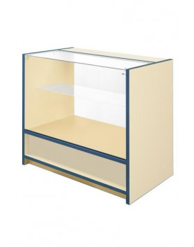 3/4 Glass Front Counter - Castle Range