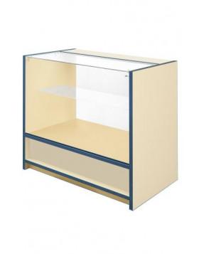 3/4 Glass Front Counter - Castle Range