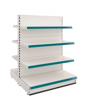 3 x 1000mm General Gondola Shelving