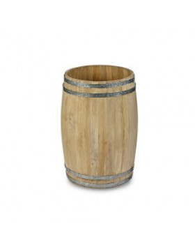 Medium Wooden Display Barrel