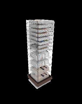 Bartuf Multi Volume Tower Newspaper Display