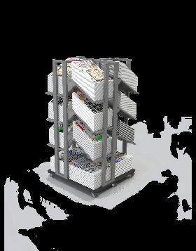 Bartuf Newspaper Cube