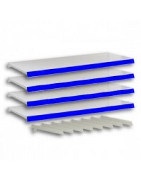 Complete Shelves for modular retail shelving