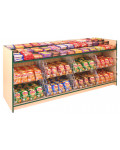 Stepped Confectionery & Crisp Display Counter - Castle Range