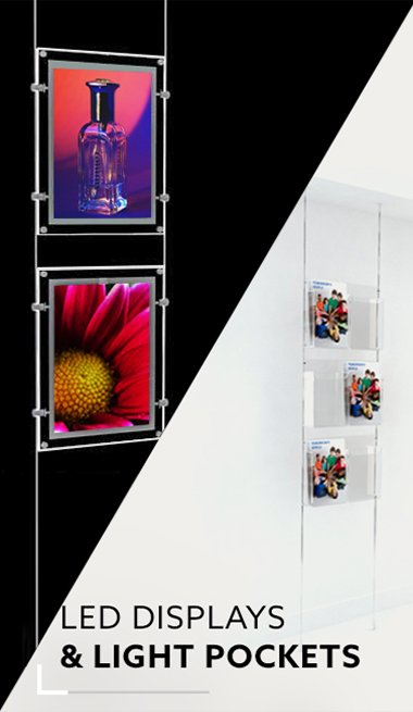LED Displays & Light Pockets
