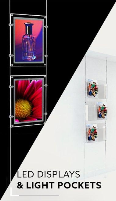 LED Displays & Light Pockets