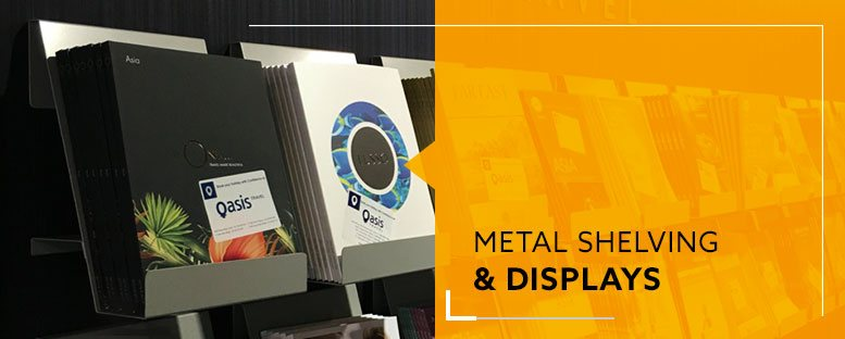Metal Shelving & Displays
